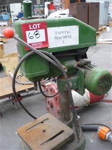 SWJ-12 Bench Tapping Machine