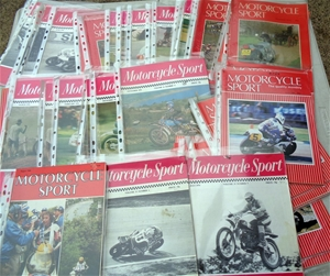 Approx 50 x Vintage Motorcycle Magazines