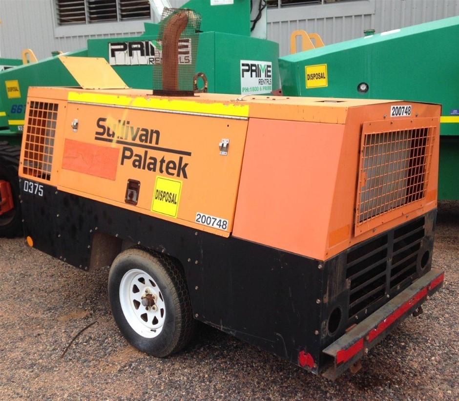 Sullivan Palatek D375 375CFM Diesel Compressor - Gladstone
