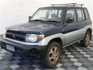 2001 Mitsubishi Pajero iO (4x4) QA Manua
