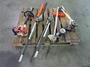 Stihl KM94RC Kombi System With 5 Attachm