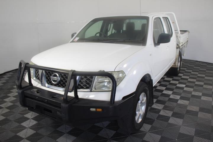 2010 Nissan Navara RX (4x4) D40 Turbo Diesel Manual Dual Cab