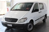 Unreserved 2010 Mercedes Benz Vito 111 CDI COMPACT