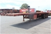 2002 Freighter 45' Triaxle Flat Top Trailer