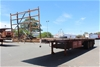 2013 Freighter 45' Triaxle Flat Top Trailer