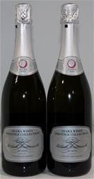 Osawa Wines Prestige Collection Chardonnay Pinot Noir NV (2x 750mL), NZ.