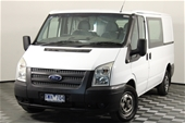 Unreserved 2011 Ford Transit Manual Van