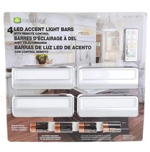 4 x CAPSTONE LED Accent Light Bars w/ Re