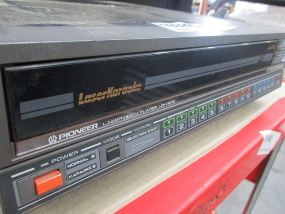 Pioneer LDV200 Laser Vision Karaoke Disc Player