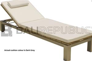 3x ULUWATU Sunloungers with Dark Grey Cu