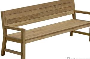 1 x TEMBOK Bench Seat 212 with Dark Grey