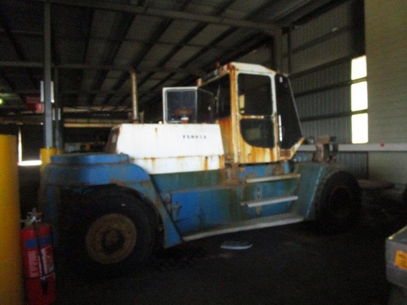 1999 SMV SL16-1200A All Terrain Forklift