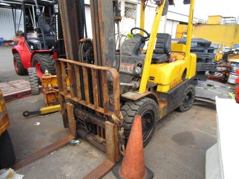 Hyster 2.5TX 4 Wheel Counterbalance Forklift