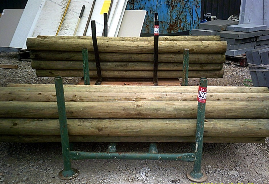 15 units of 100mm x 125mm H3 Treated Pine Poles.