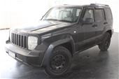 Unreserved 2009 Jeep Cherokee Limited (4x4) KK T/Diesel Auto