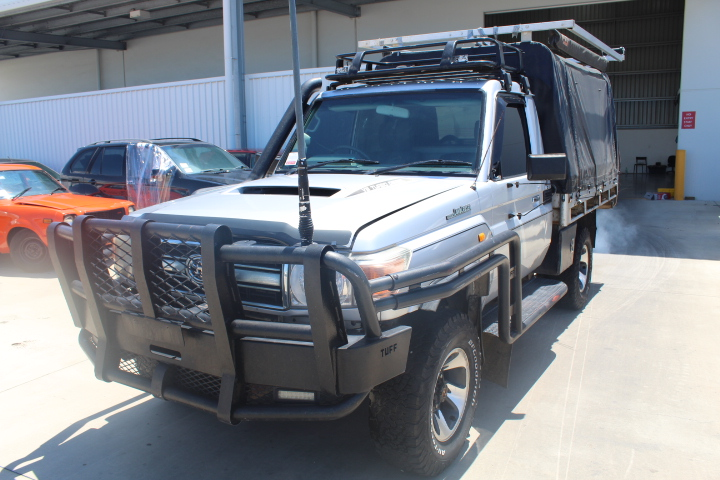 2008 Toyota Landcruiser Workmate (4x4) Turbo Diesel V8 Cab Chassis