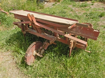 Cabbage Planter Tractor Attachment