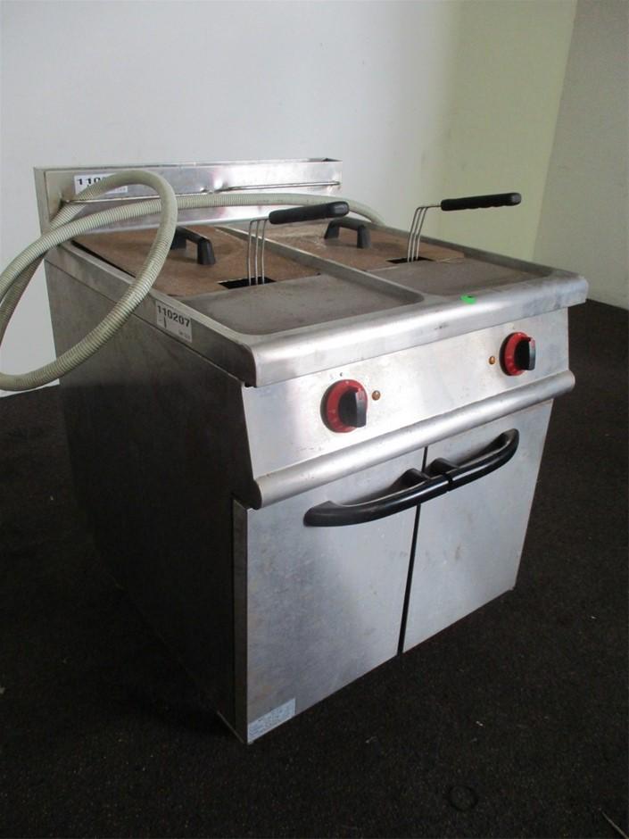 2008 JZH-TC-2 Dual Basket Deep Fryer