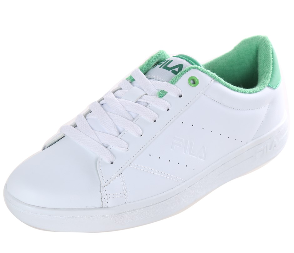 FILA Street Ladies Tennis Sport Shoes, Size UK 3.5, Leather - PU Upper; Whi