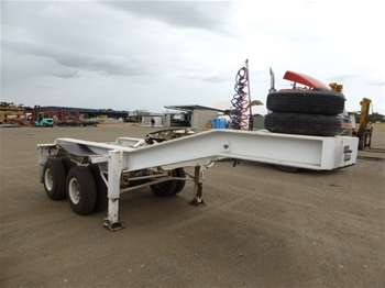 1980 J. Smith & Sons Low Loader Dolly