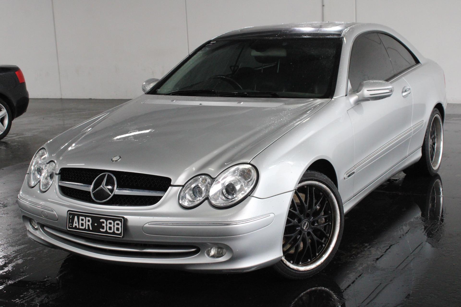 2003 Mercedes Benz CLK500 Avantgarde C209 V8 Automatic Coupe
