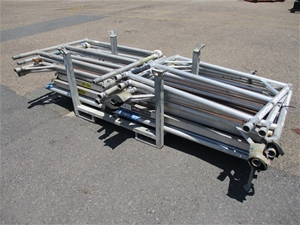Stillage of Scaffolding Components