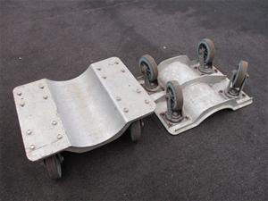 Qty 2 x Pipe Trolleys