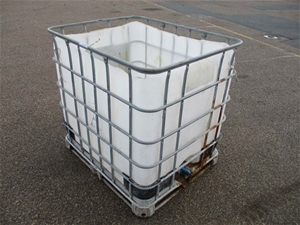 1000L IBC Container Top Cut Off
