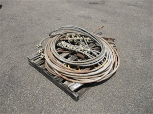 Pallet of Wire Cable