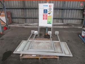 Pallet of Metal Frame Notice Boards