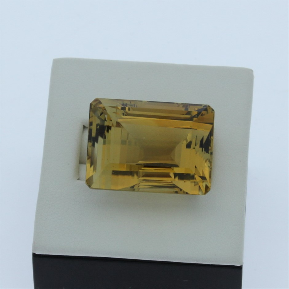 One Loose Citrine, 41.40ct in Total