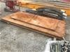 <B>Steel Road Plate x 1</B> <li>Approx. Length (mm): 4000</li> <li>Approx