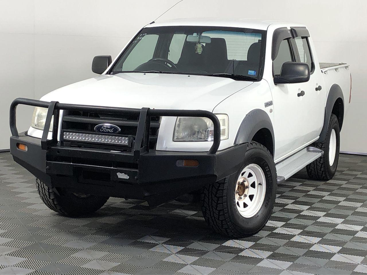 2007 Ford Ranger XL 4x2 Crew Cab PJ Turbo Diesel Automatic Dual Cab