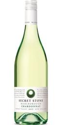 Secret Stone Chardonnay 2018 (6x 750mL). Screwcap.