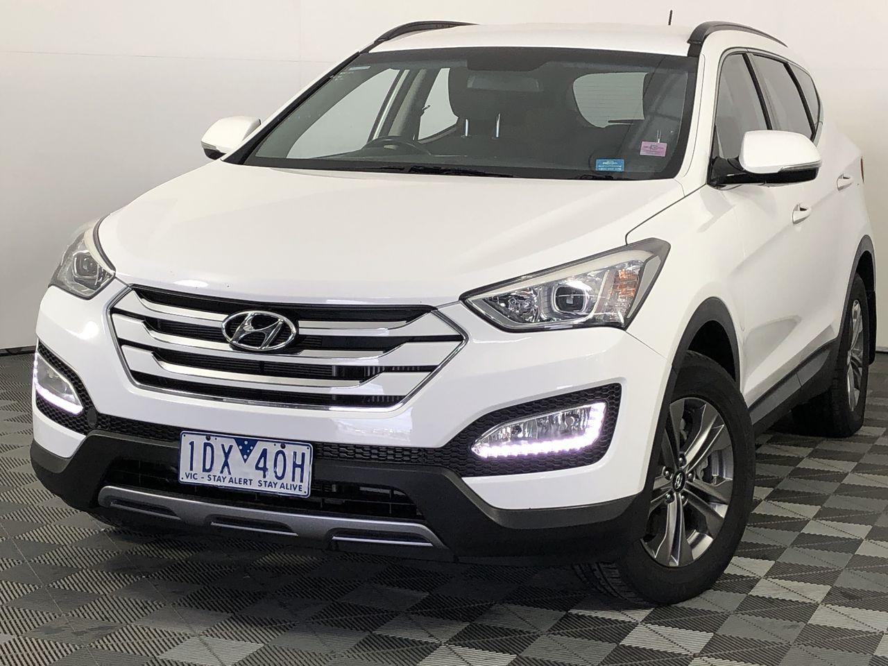2015 Hyundai Santa Fe Active DM Turbo Diesel Automatic 7 Seats Wagon