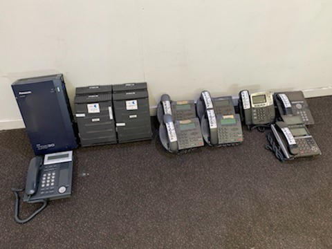 Assorted Phone Systems & Handsets