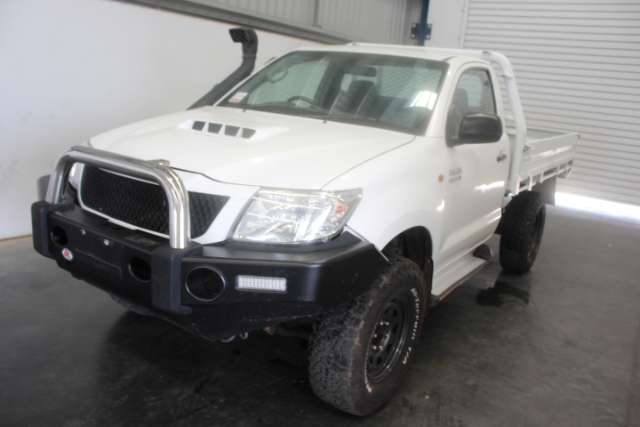 2012 Toyota Hilux 3.0 Turbo Diesel 4WD Cab Chassis