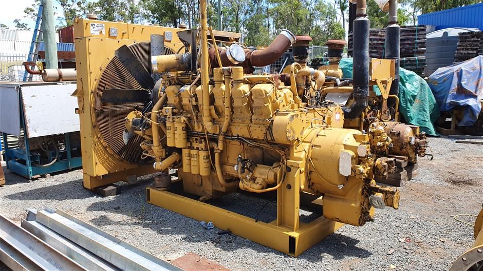 CAT 3512 Engine and Torque Converter