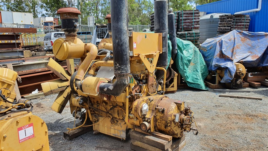CAT 3412 Engine and Torque Converter