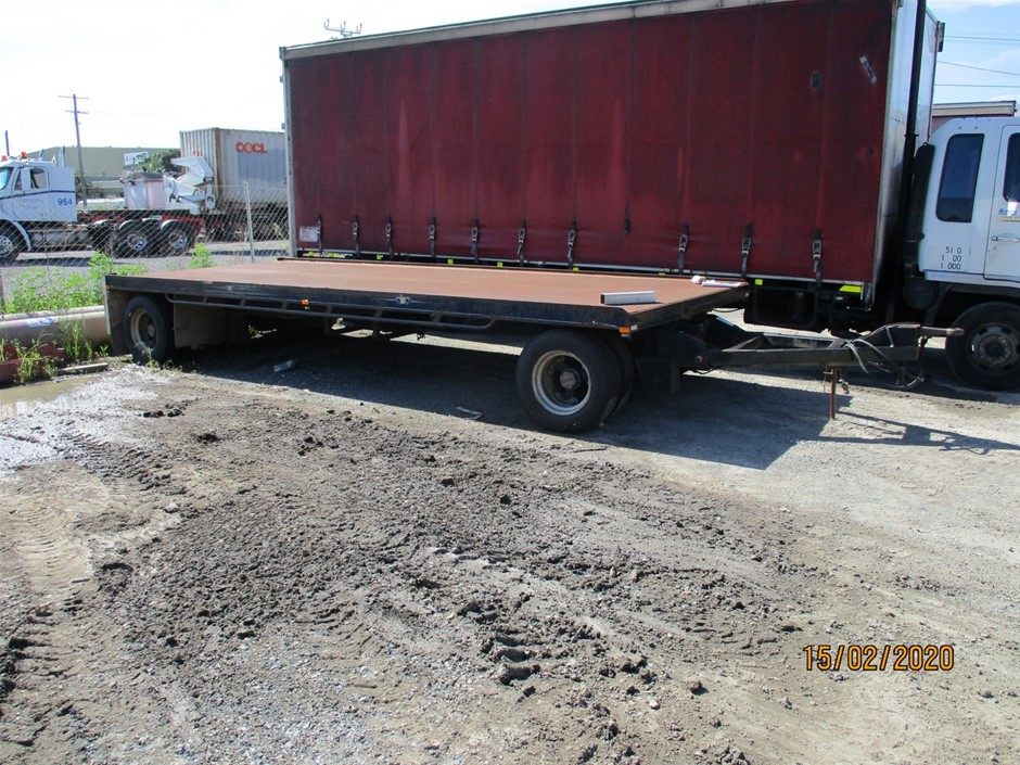 2005 Heavy Haul Trailer Pig Trailer