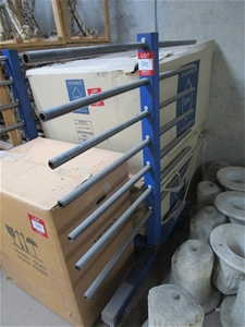 Mobile Storage Rack with 7 Tiers
