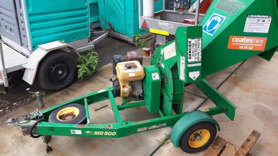 Mulcher / Chipper - Towable 76mm - RED ROO CT100B16
