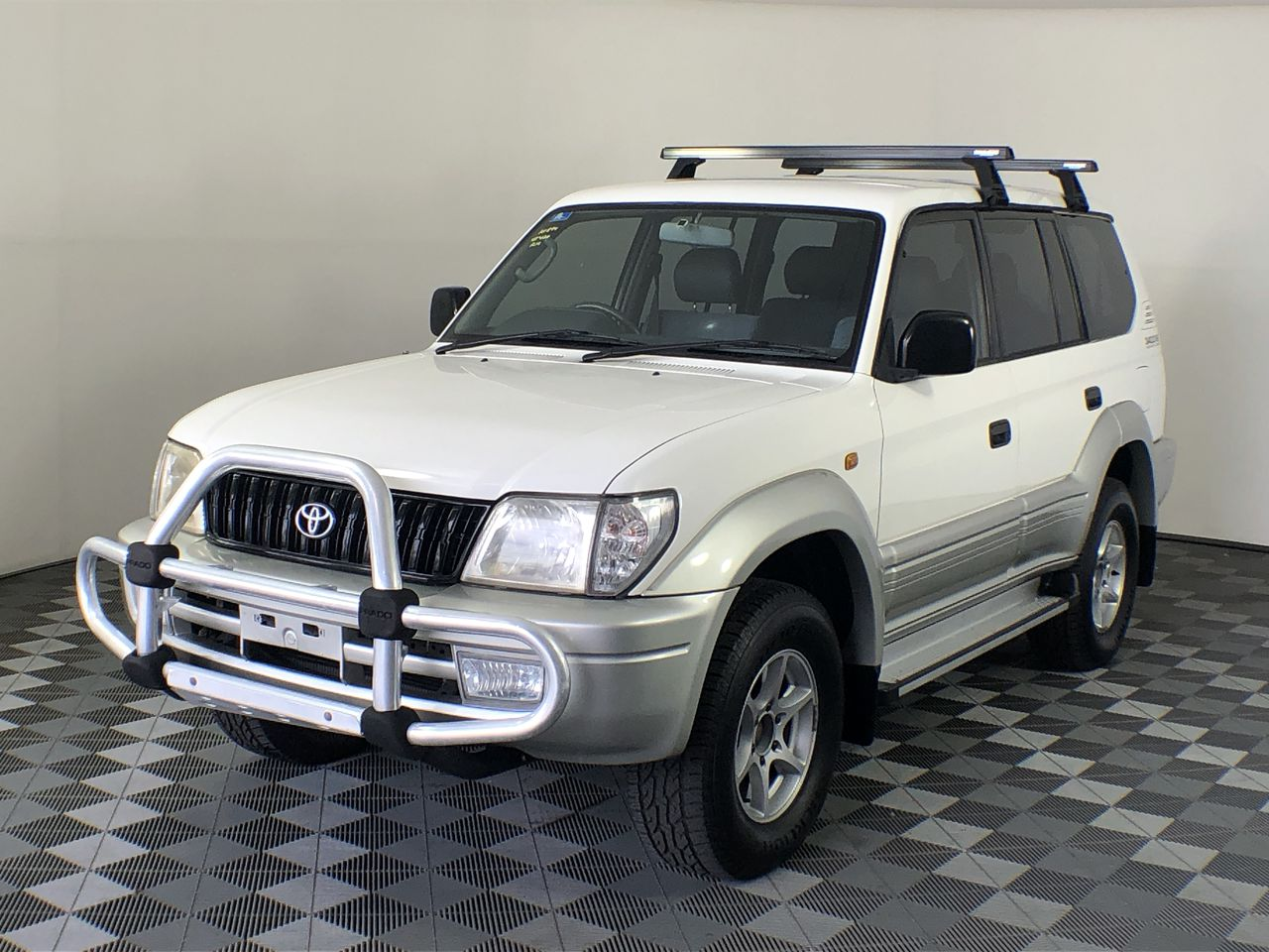 2002 Toyota Landcruiser Prado GXL (4x4) VZJ95R Automatic 8 Seats Wagon