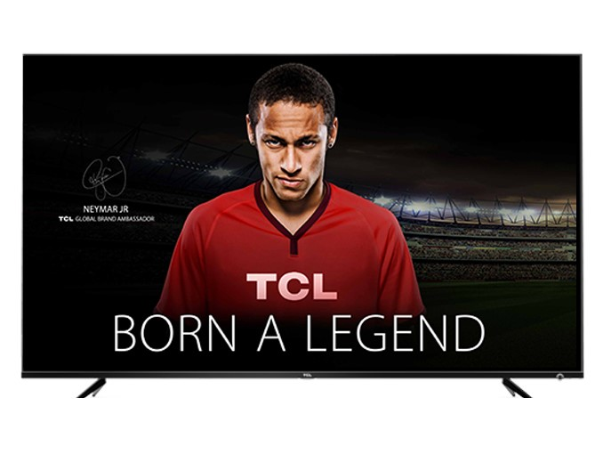 TCL 50inch TV. Model No. 50PU6US. Complete with Power Cable. N.B. Not in bo