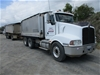 2004 Kenworth 401 6 x 4 Tipper Truck and 1998 Hercules Triaxle Dog Trailer