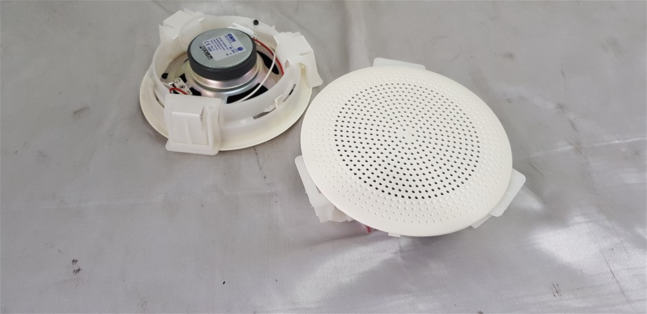 Qty 2x DNH BL-550 5 inch Ceiling Speakers