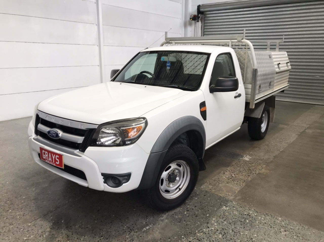 2009 Ford Ranger XL (4x2) PK Turbo Diesel Manual Cab Chassis 161699kms