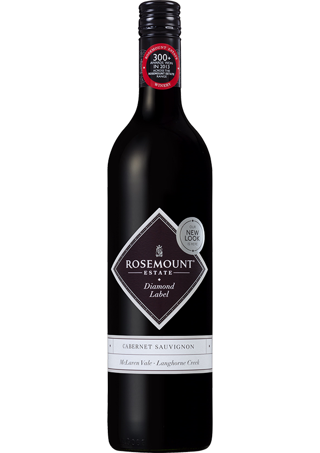 Rosemount Diamond Label Cabernet Sauvignon 2018 (6x 750mL).TAS.