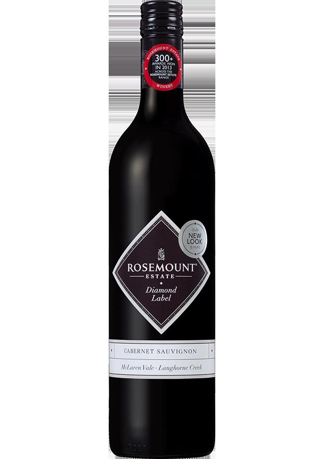 Rosemount Diamond Label Cabernet Sauvignon 2018 (6x 750mL).TAS.