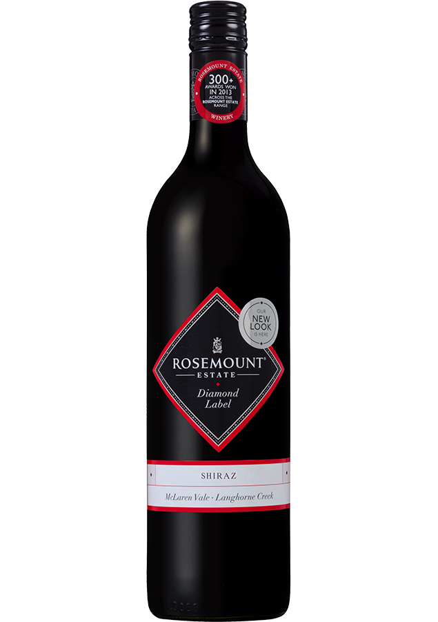 Rosemount Diamond Label Shiraz 2019 (6x 750mL).TAS.